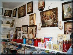 We stock a selection of holy pictures...