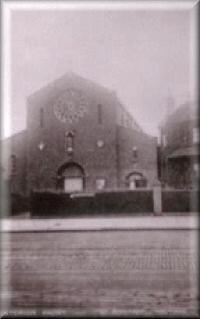 The 'unfinished' St Boniface Church c1907
